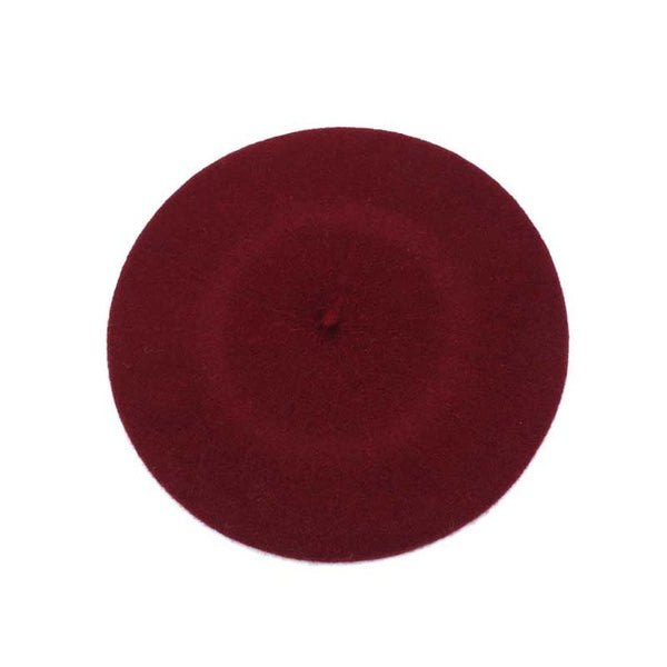 Solid Cotton Beret