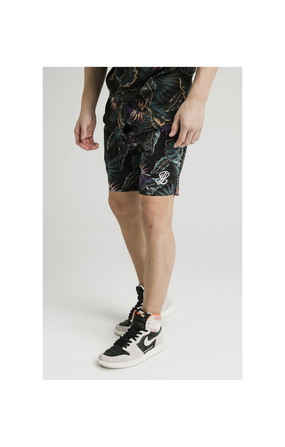 Illusive London Swim Shorts - Palm Print