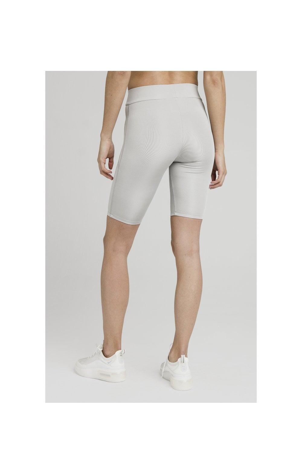 SikSilk Disco Cycle Shorts – Silver (7)