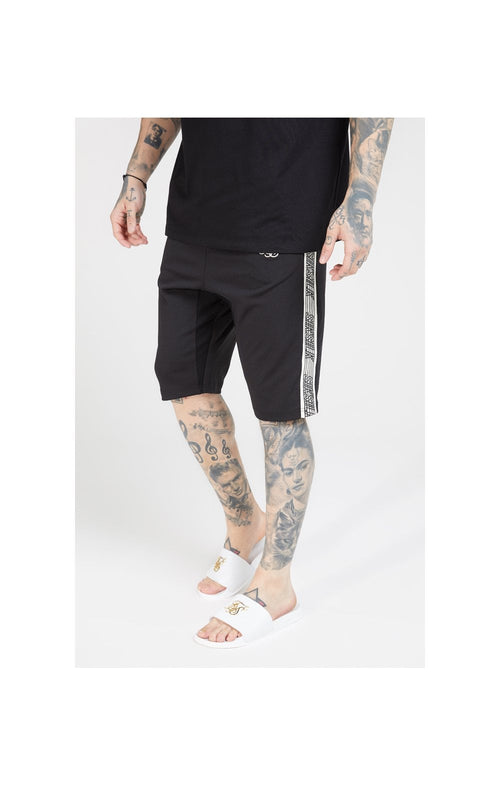 SikSilk Zonal Runner Shorts - Black
