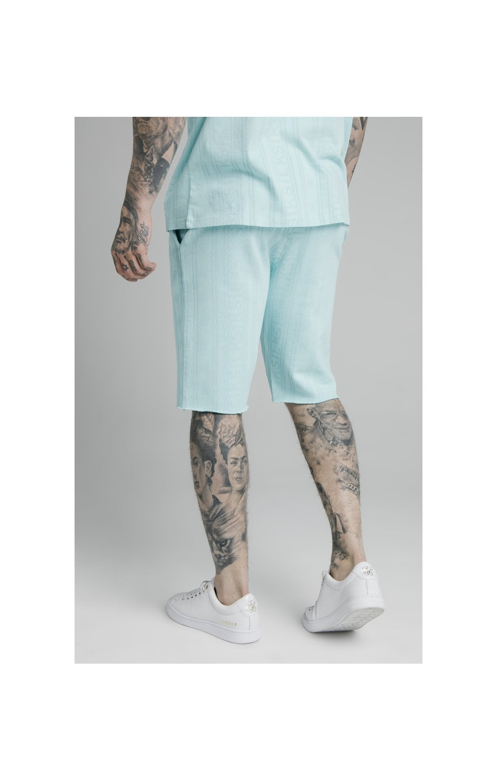 Load image into Gallery viewer, SikSilk Pastel Gym Shorts - Blue (1)