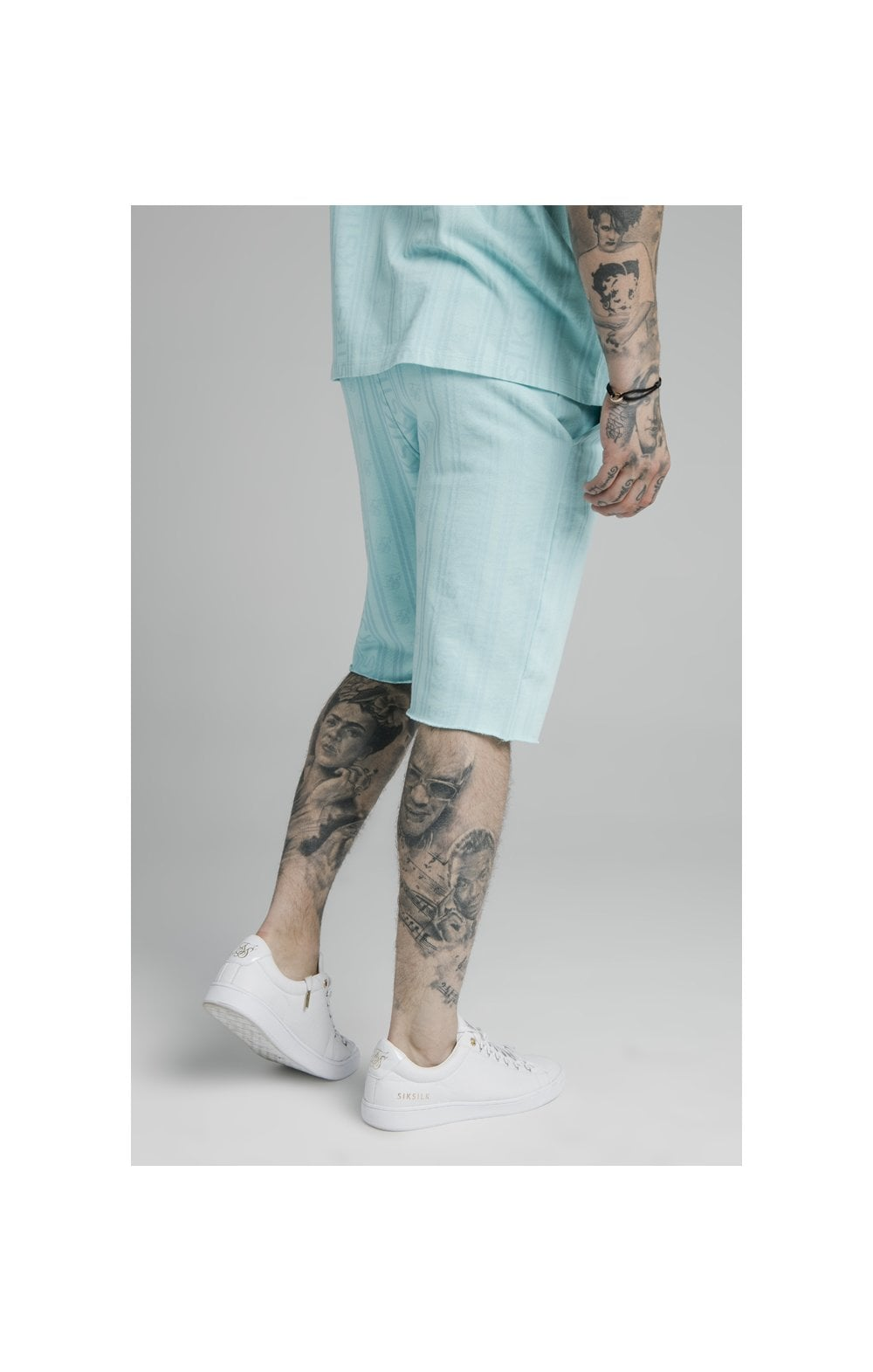 Load image into Gallery viewer, SikSilk Pastel Gym Shorts - Blue (2)