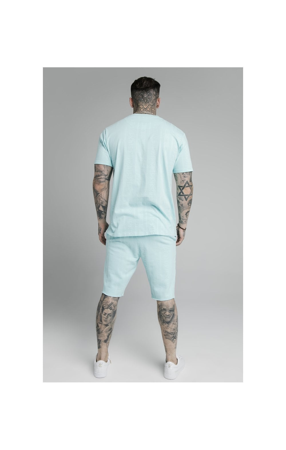 Load image into Gallery viewer, SikSilk Pastel Gym Shorts - Blue (4)