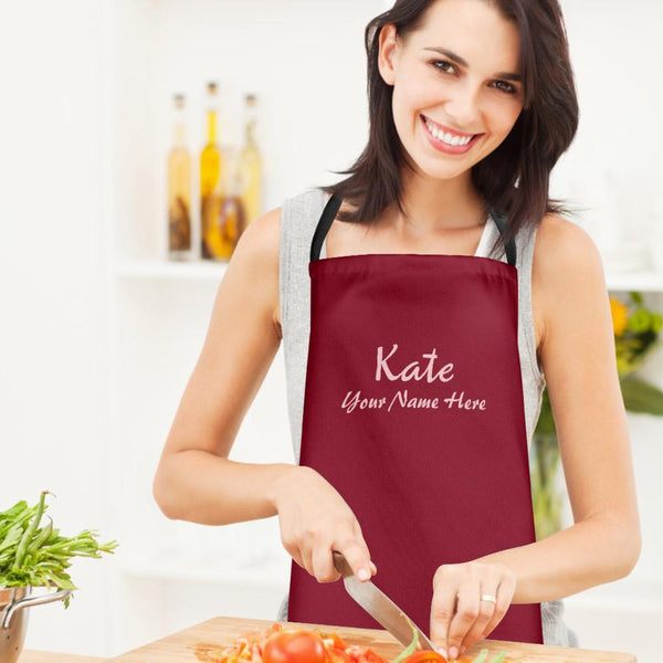 Custom Kitchen Cooking Apron with Your Name