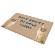 Custom Funny Pet Photo Doormat-Smile