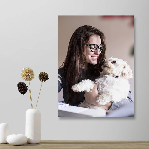 Custom Photo Wall Art Decor Painting Canvas Pet Lover