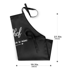 Custom Kitchen Cooking Apron with Your Name and Chef