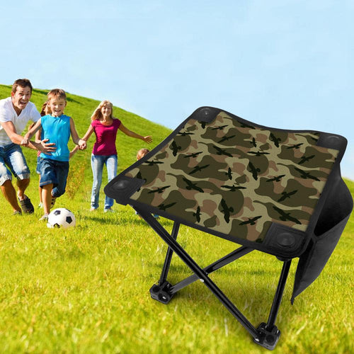Folding Camping Stool Portable Outdoor Mini Chair Fishing Chair