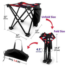 Folding Camping Stool Portable Outdoor Mini Chair With Bag