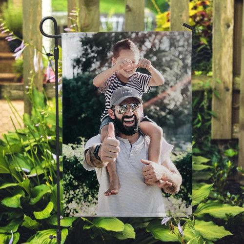 Custom Outdoor Photo Garden Flag