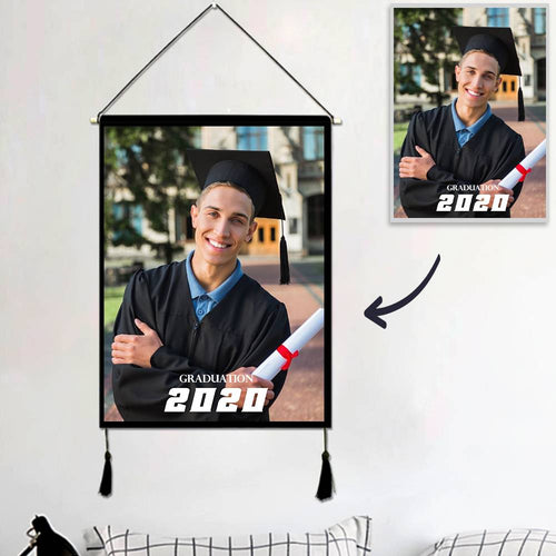 Graduation Gifts Custom Photo Tapestry