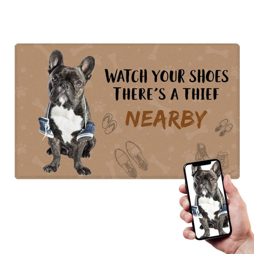 Humor Pet Mat With Your Pet's Photo Family Doormat