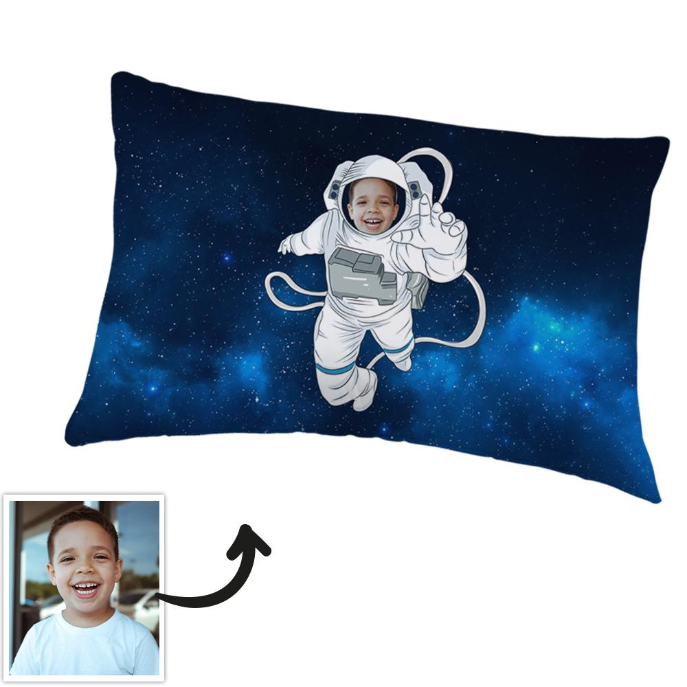 Polyester Fibre Custom Pillowcase Personalized Photo Pillowcase-The Astronaut Pillowcase