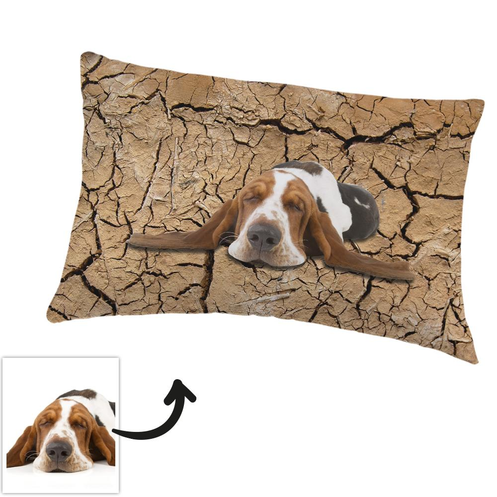 Custom Pillowcase Personalized Photo Polyester Fibre Pillowcase-The Dry Land Pillowcase