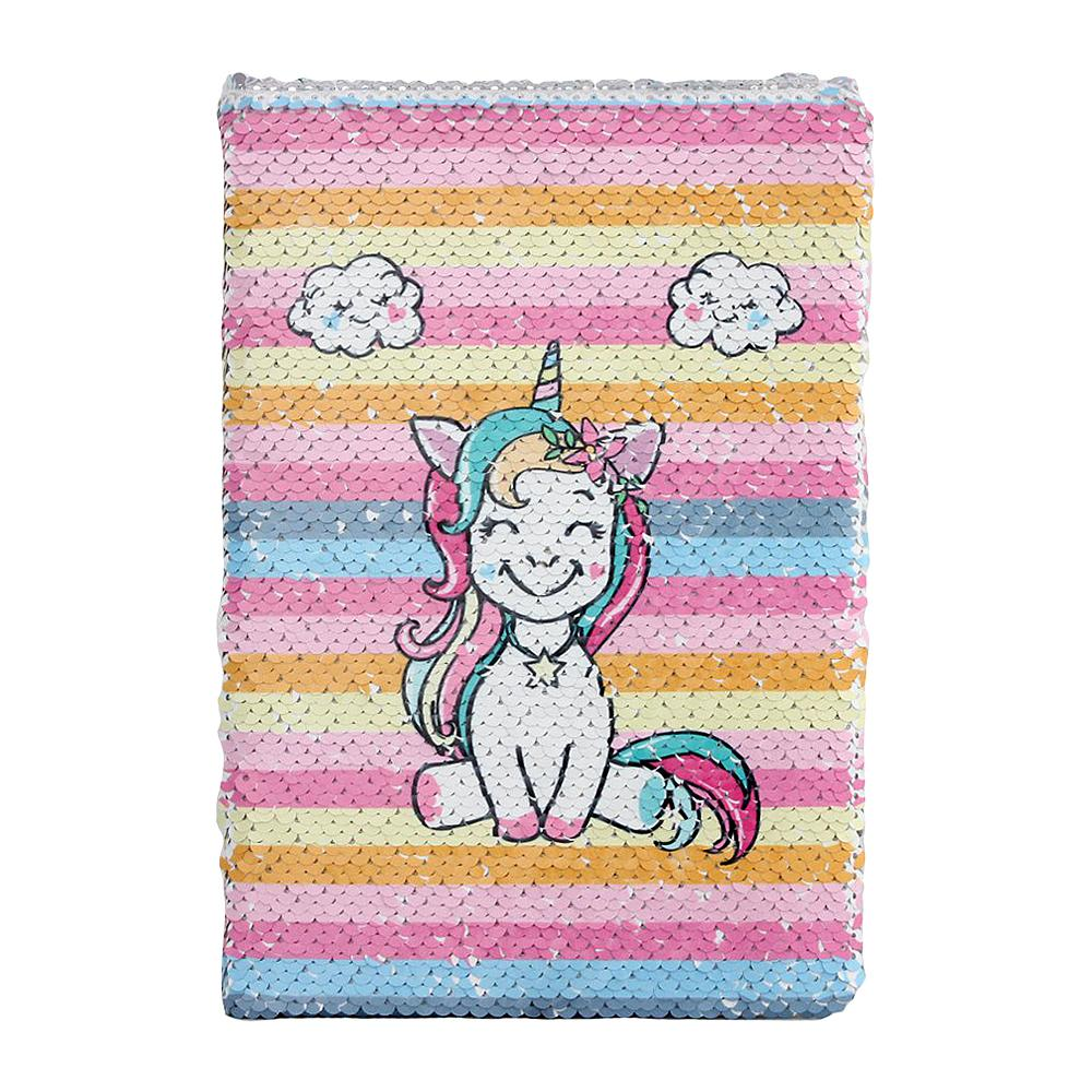 Unicorn Magic Sequin Notebook Gifts for Student