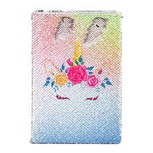 Unicorn Magic Sequin Notebook Creative Gifts for Students