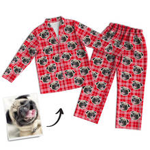 Custom Photo Pajama Pants, Sleepwear, Nightwear, Lounge Wear
