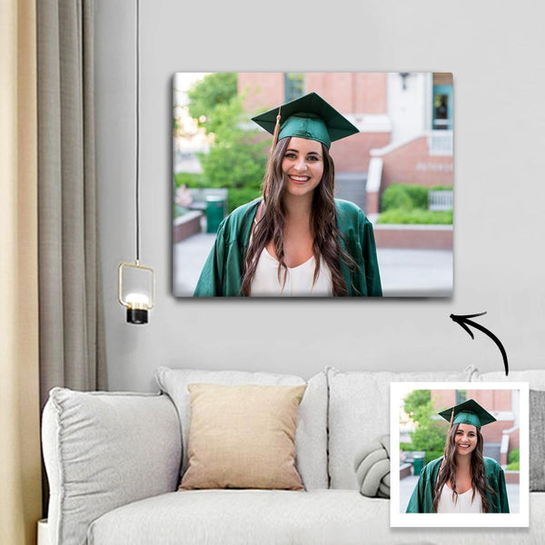 Congrats Grad Gifts Custom Photo Canvas Prints
