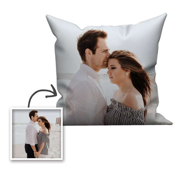 Limited Offer Custom Couple Photo Throw Pillow
