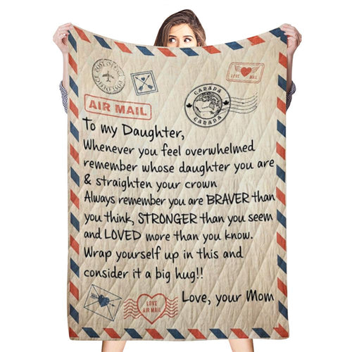 Personalized Handwriting Blanket Custom Handwriting Text Photo Blanket Best Holiday Gift for Parents/Couples/child