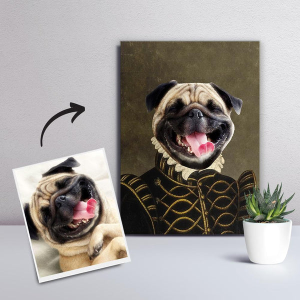 Custom Photo Canvas Print Personalized Pet Unique Style painting Canvas