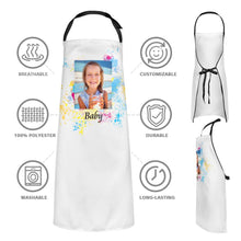 Custom Kitchen Cooking Apron with Your Photo and Name
