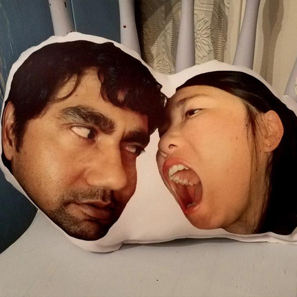Custom Pet Photo Face Pillow 3D Portrait Pillow-naughtyface