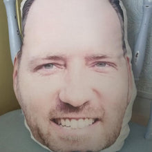 Custom Photo Face Pillow 3D Portrait Pillow-funnyfaces