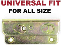 No-Mortise Bed Rail Fittings Complete Set of 4
