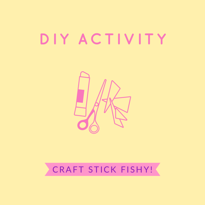 FUN & EASY SUMMER CRAFT: DIY CRAFT STICK FISH!