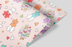 YOU COMPLETE ME!  GIFT WRAP