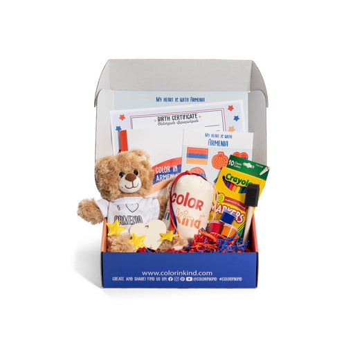 My Heart Is With You: Build Your Own Teddy & Activity Kit