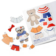 Load image into Gallery viewer, My Heart Is With You: Build Your Own Teddy & Activity Kit