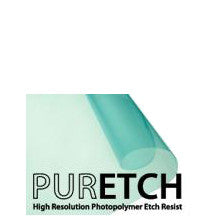 Puretch Photopolymer Etch Resist and related supplies