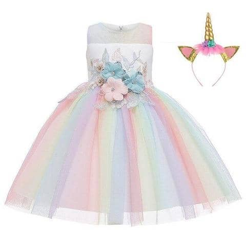 Unicorn Dress Princess