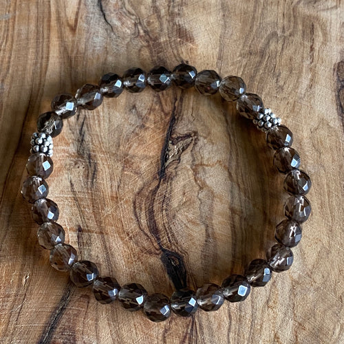 Smoky Quartz Small Format Bracelet ~ 20% Off BFCM SALE!
