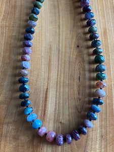 Multi-colored Tourmaline Necklace
