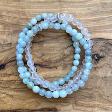 Load image into Gallery viewer, Aquamarine Spring Bracelet