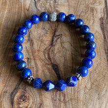 Load image into Gallery viewer, Lapis Lazuli 8mm  Bracelet ~ On Sale!