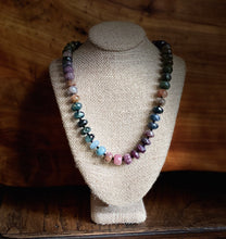 Load image into Gallery viewer, Multi-colored Tourmaline Necklace