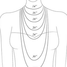Load image into Gallery viewer, Simple Rose Quartz Necklace