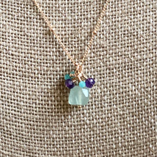 Load image into Gallery viewer, Trio of Semi-Precious Stones Necklace