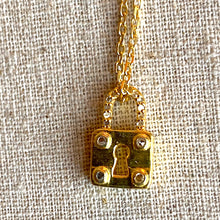 Load image into Gallery viewer, Secret Locket and Diamond Pave Necklace ~ 30% OFF!