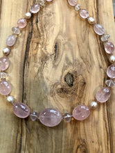 Load image into Gallery viewer, One-Of-A-Kind Rose Quartz Necklace