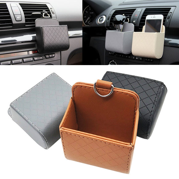 Car Storage Bag Outlet Vent Tidy Storage Box - makofis