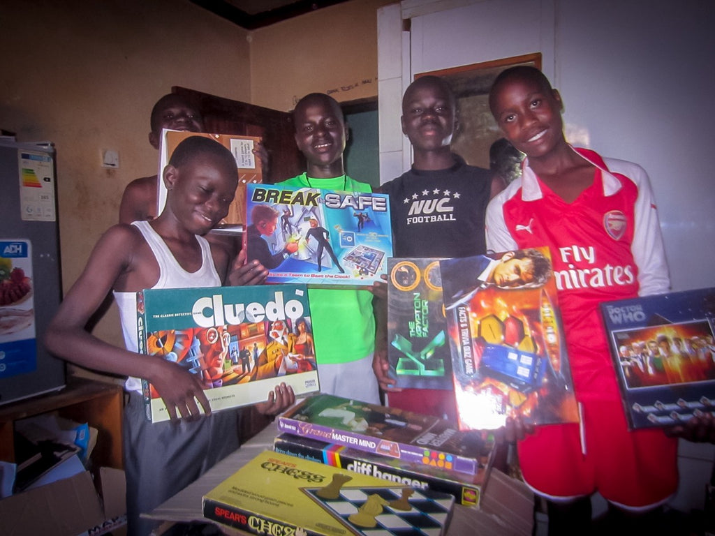 #GameChangersUganda Support Continues!