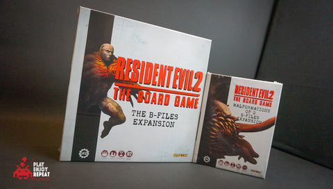 Resident Evil 2: The Board Game Complete B-Files Expansion Bundle