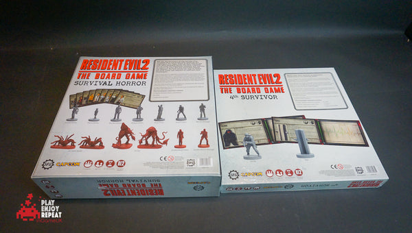 Resident Evil 2: The Board Game Survival Horror and 4th Survivor Expansion Bundle