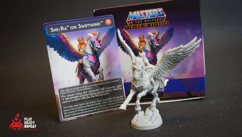 Masters Of The Universe Fields Of Eternia She-Ra on Swiftwind Archon Studio