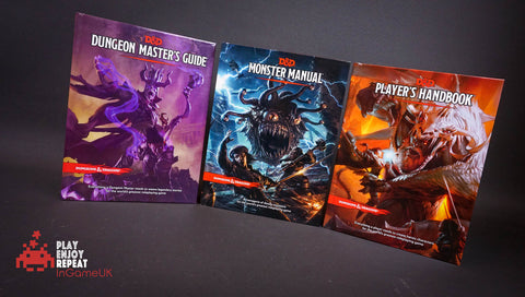 D&D Core Books Dungeon Master's Guide, Player Hand Book and Monster Manual Bundle